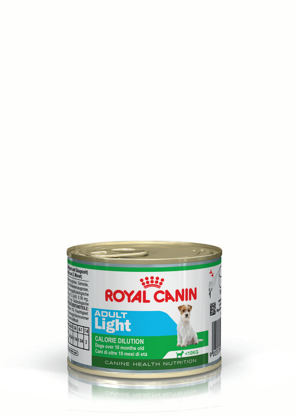 Royal Canin Can Food Adult Light Dog Food 195g