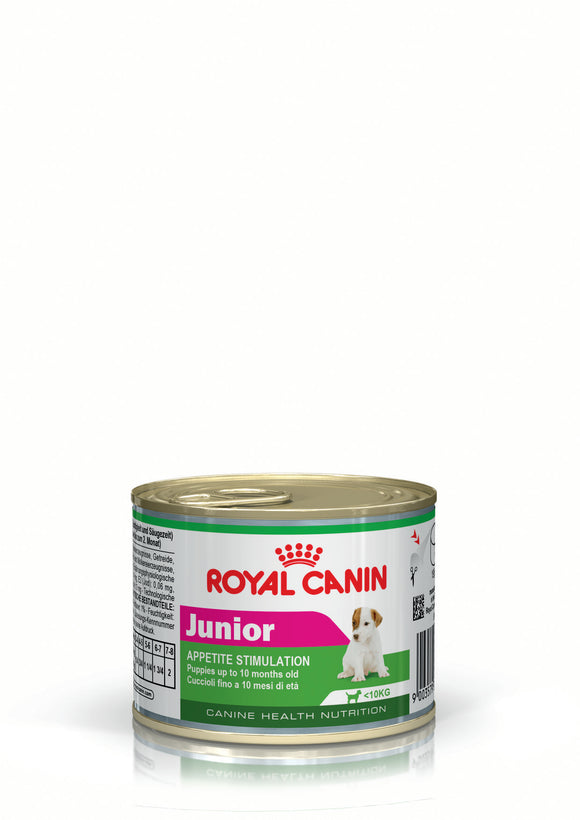 Royal Canin Can Food Junior Dog Food 195g