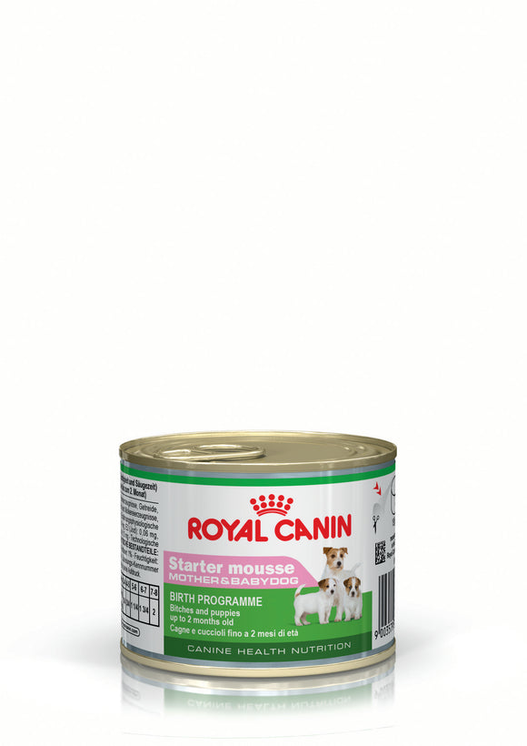 Royal Canin Can food Starter mousse Dog Food 195g