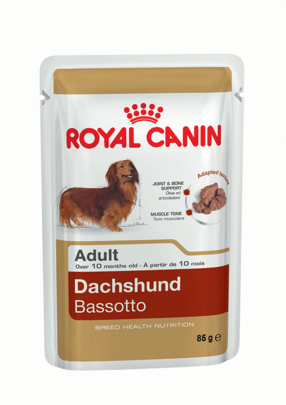 Royal Canin Pouch Dachshund Adult Dog Food 85g