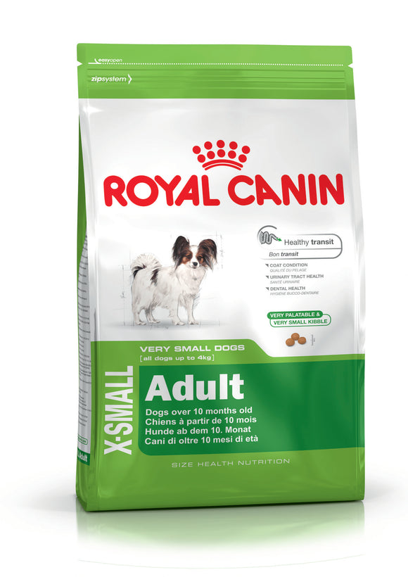 Royal Canin X-Small Adult Dog Food 0.5kg