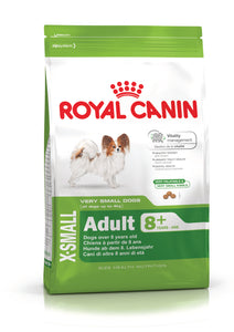 Royal Canin X-Small Adult 8+ Dog Food 0.5kg