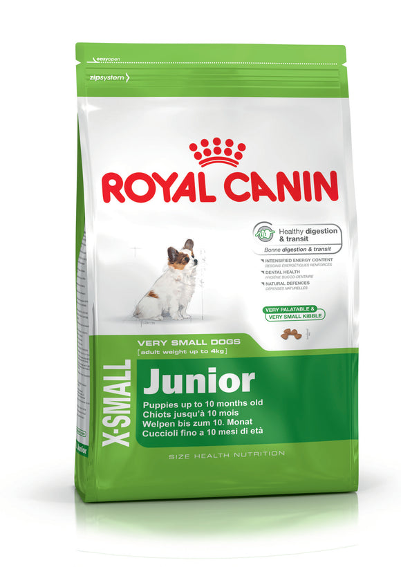 Royal Canin X-Small Junior Dog Food 0.5kg