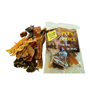 Ostrich treats Variety pack 150g