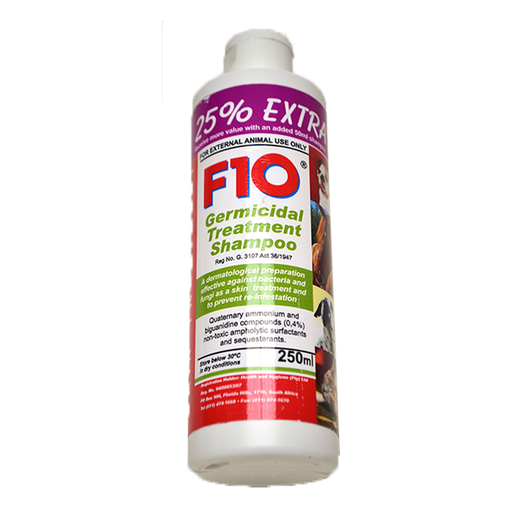 F10 Germicidal Shampoo  250ml
