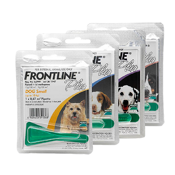 Frontline Plus Dogs small <10kg