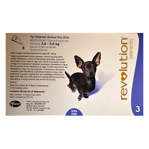 Revolution Small Dogs 2.6-5kg