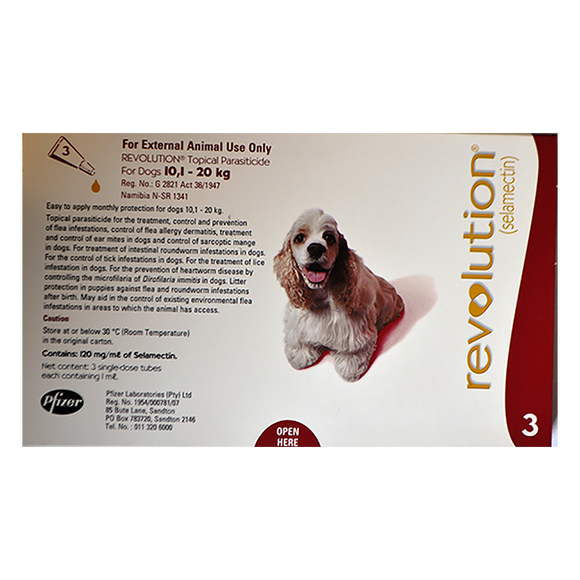 Revolution Medium Dogs 10-20Kg