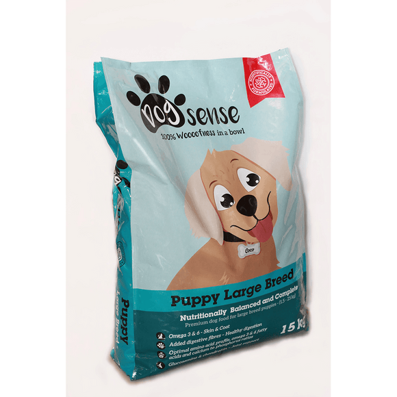 DogSense Large Breed Puppy 15kg