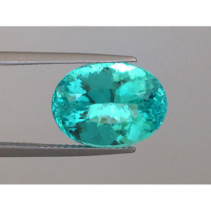 Extremely Rare Paraiba Tourmaline 8.38 carats with GIA Report