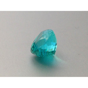Extremely Rare Paraiba Tourmaline green-blue color pear shape 6.84 carats with GIA Report