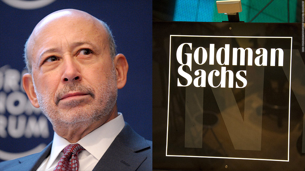 El CEO de Goldman Sachs ve a las criptomonedas con un uso global