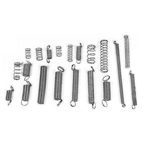 200PCS Spring assortment Spiral Spring Galvanized Spring Set Spring Rate Extension Spring