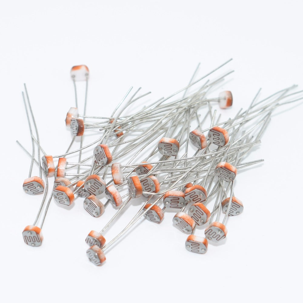 Resistors 10PCS/LOT 5528 photosensitive resistance/photoelectric switch element/photoelectric detecting element / 5 mm