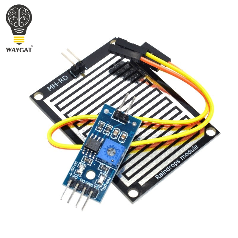 Snow / Raindrops Detection Sensor Module Rain Weather Module Humidity For Arduino
