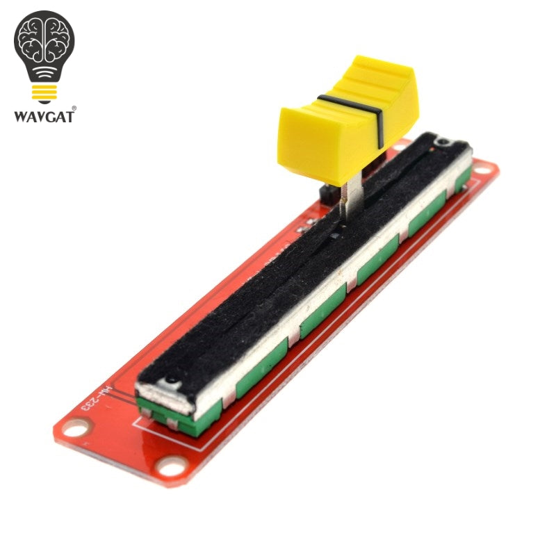 WAVGAT Slide Potentiometer 10K Linear Module Dual Output for Arduino AVR Electronic Block