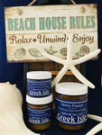 Greek Isle (New!) - candles-by-green-papaya