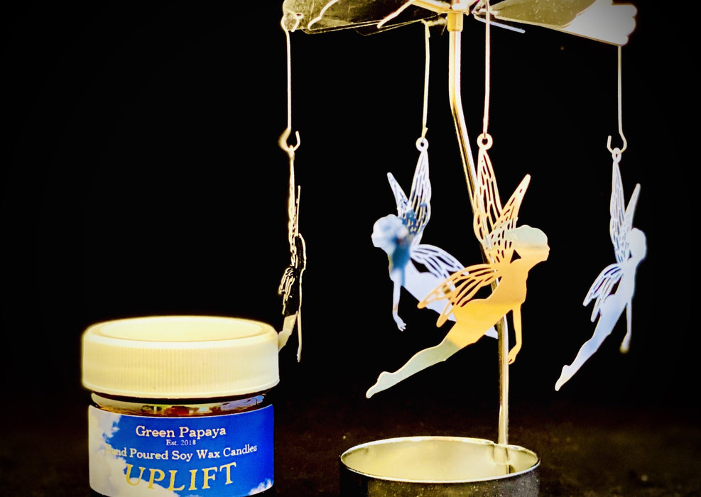 Candle Carousel - The Playful Fairies