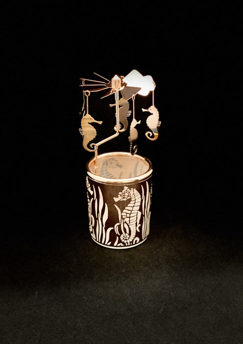 Candle Carousel - The Majestic Seahorse