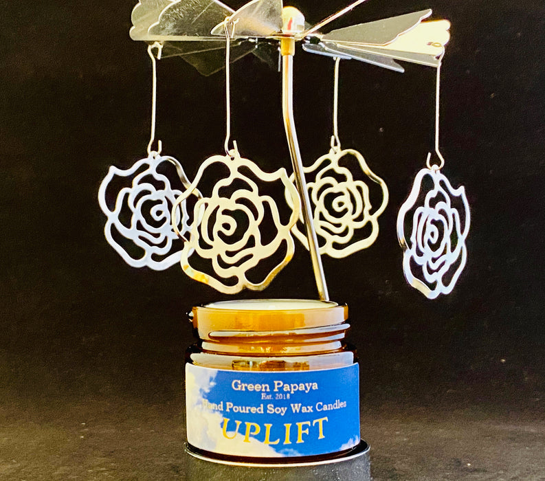Candle Carousel - The Rose Bouquet