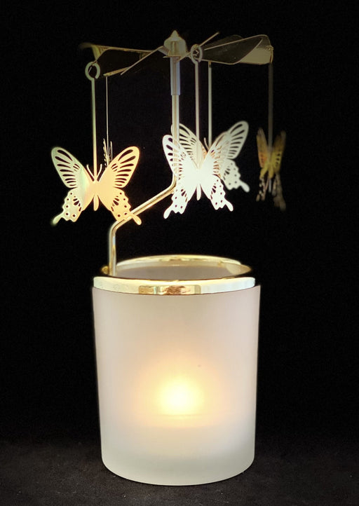 Candle Carousel - The Elusive Butterfly