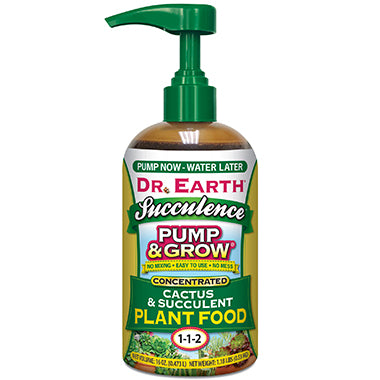 Dr. Earth Pump & Grow Cactus and Succulent Food - 16oz
