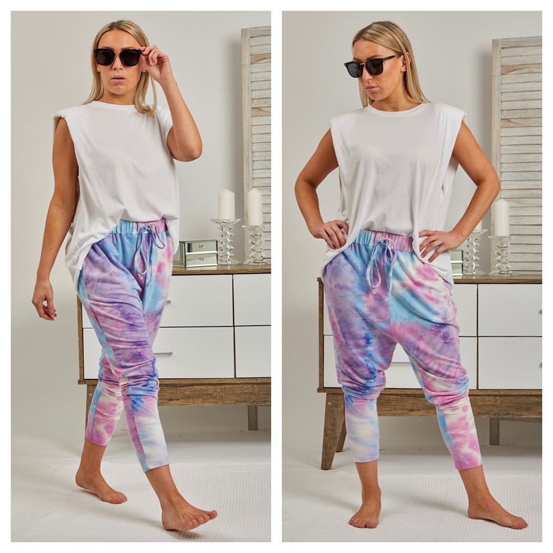 Love Lily The Label - Tie Dye Joggers
