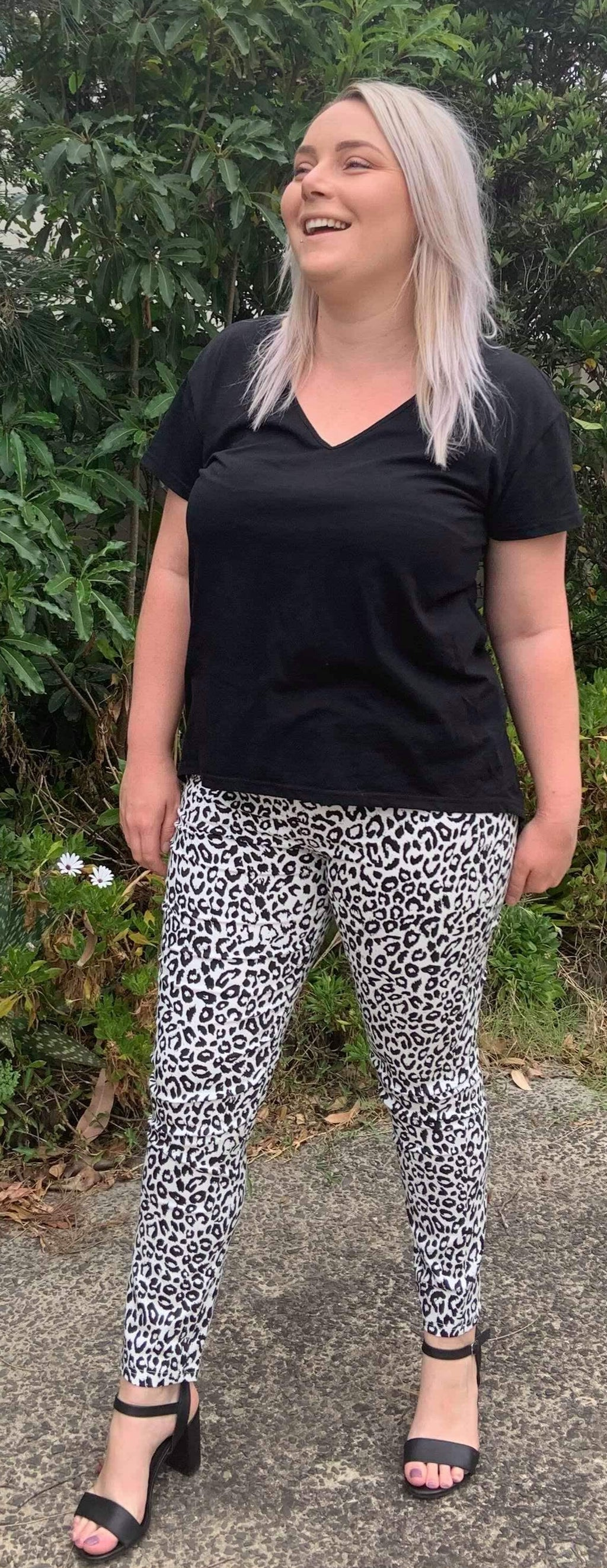 Whispers - Leopard Print Pants