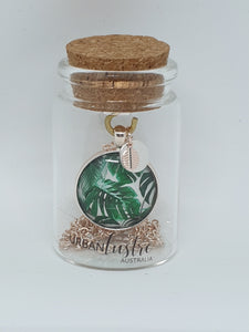 Urban Lustre Fern Pendant Necklace