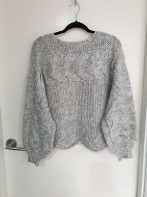 Miracle Grey Marle Knit