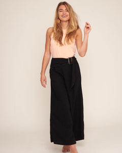 White Closet - Black Wide Leg Pants
