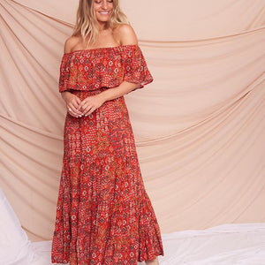 Label of Love - Off The Shoulder Floral Dress