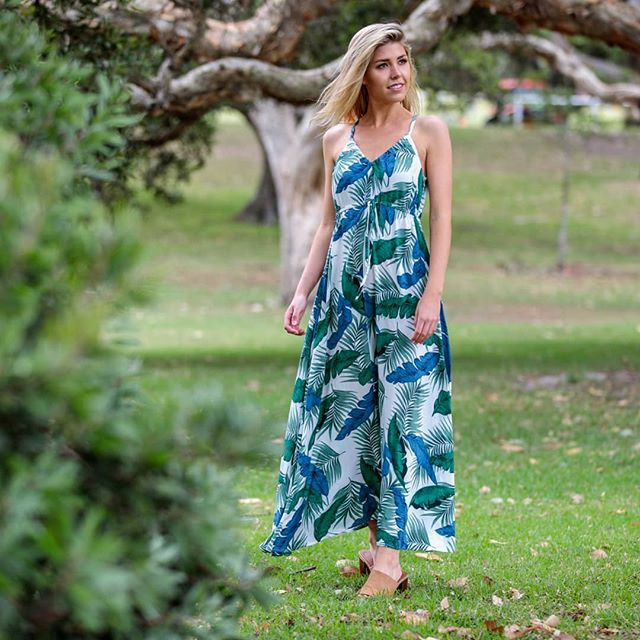 Boho Australia - Rosemary Halter Maxi Dress