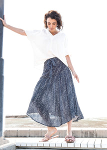 PQ Collection - Dusted Ink/Chalk Skirt