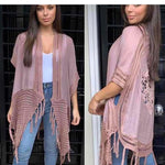 peggy minnie pink diamond pink blush boho cape