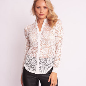 peggy minnie ebby and i white lace top