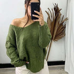 Pink Diamond - Olive Jumper