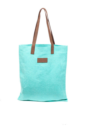 peggy minnie gj design aqua tote