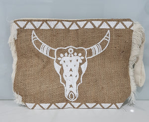 Buffalo Hessian Clutch