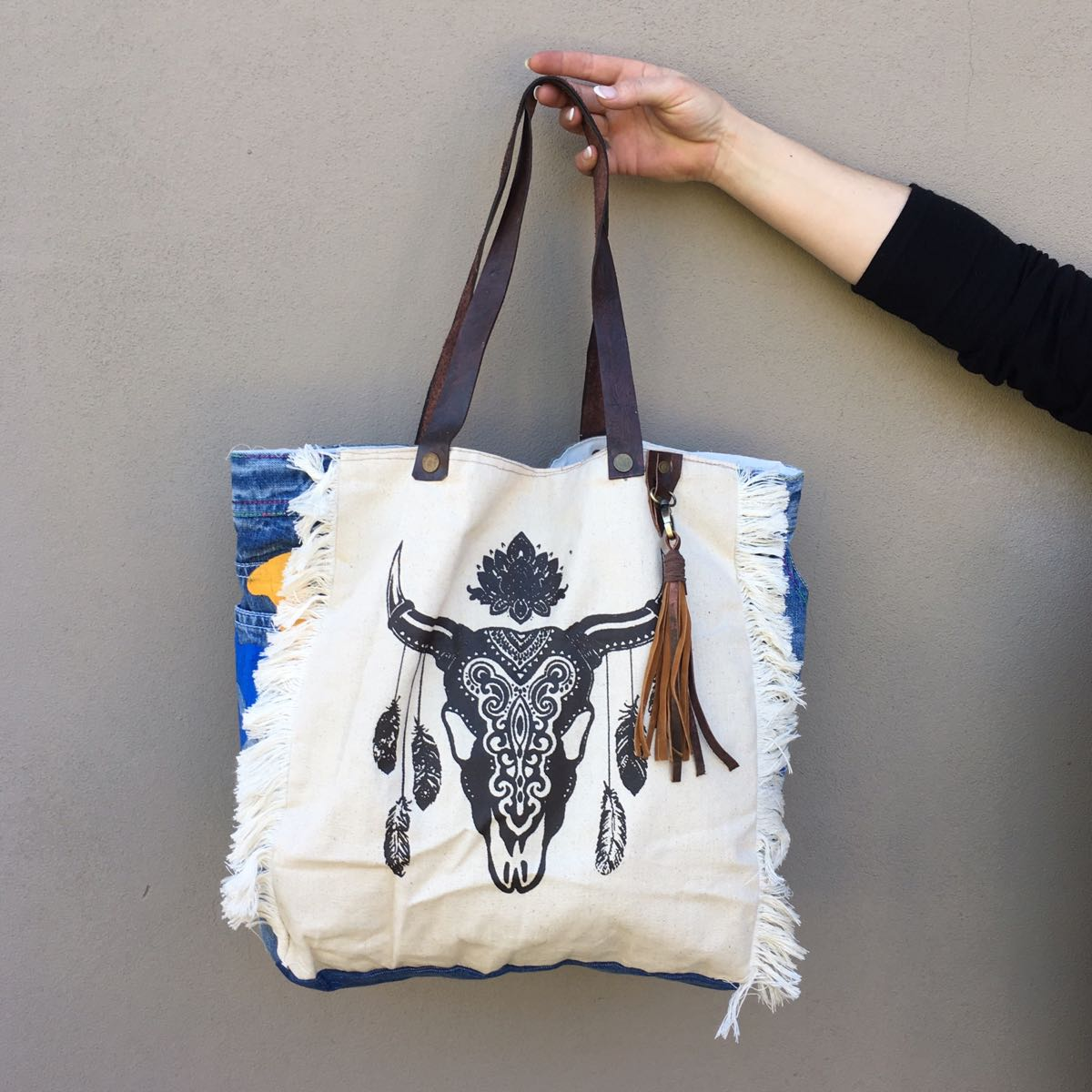 peggy minnie buffalo tote