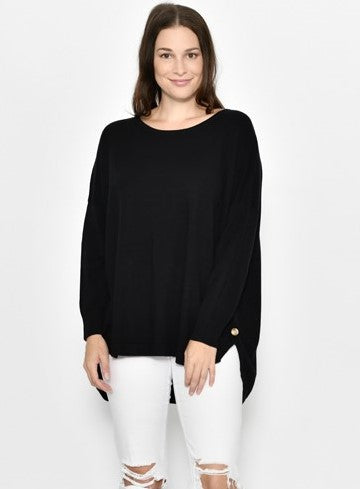 Cali & Co Black Baggy Jumper