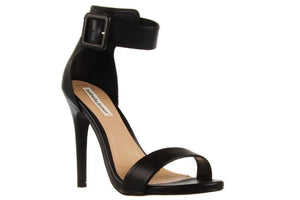 peggy minnie isabella brown strappy black heel