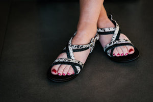 Design Edge - Cowhide Leather Sandal