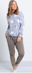 Ebby and I - Metallic Spotted Sweater