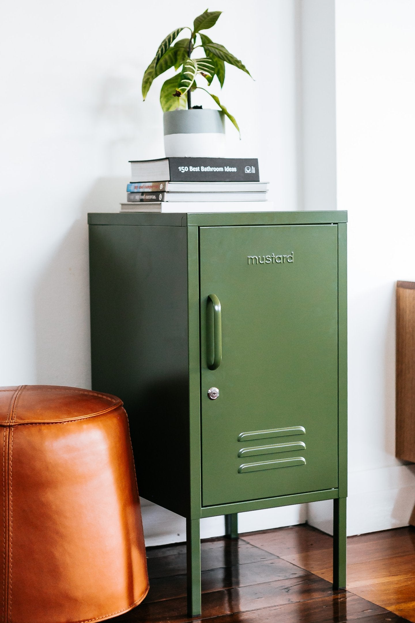 Shorty Locker - Available in Mustard, Olive, Blush, Navy, White and Slate