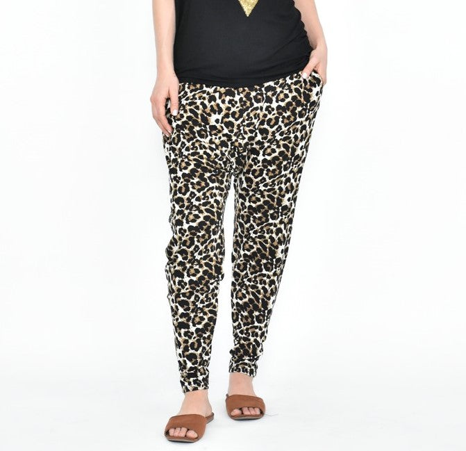 Cali & Co - Baggy Leopard Pants