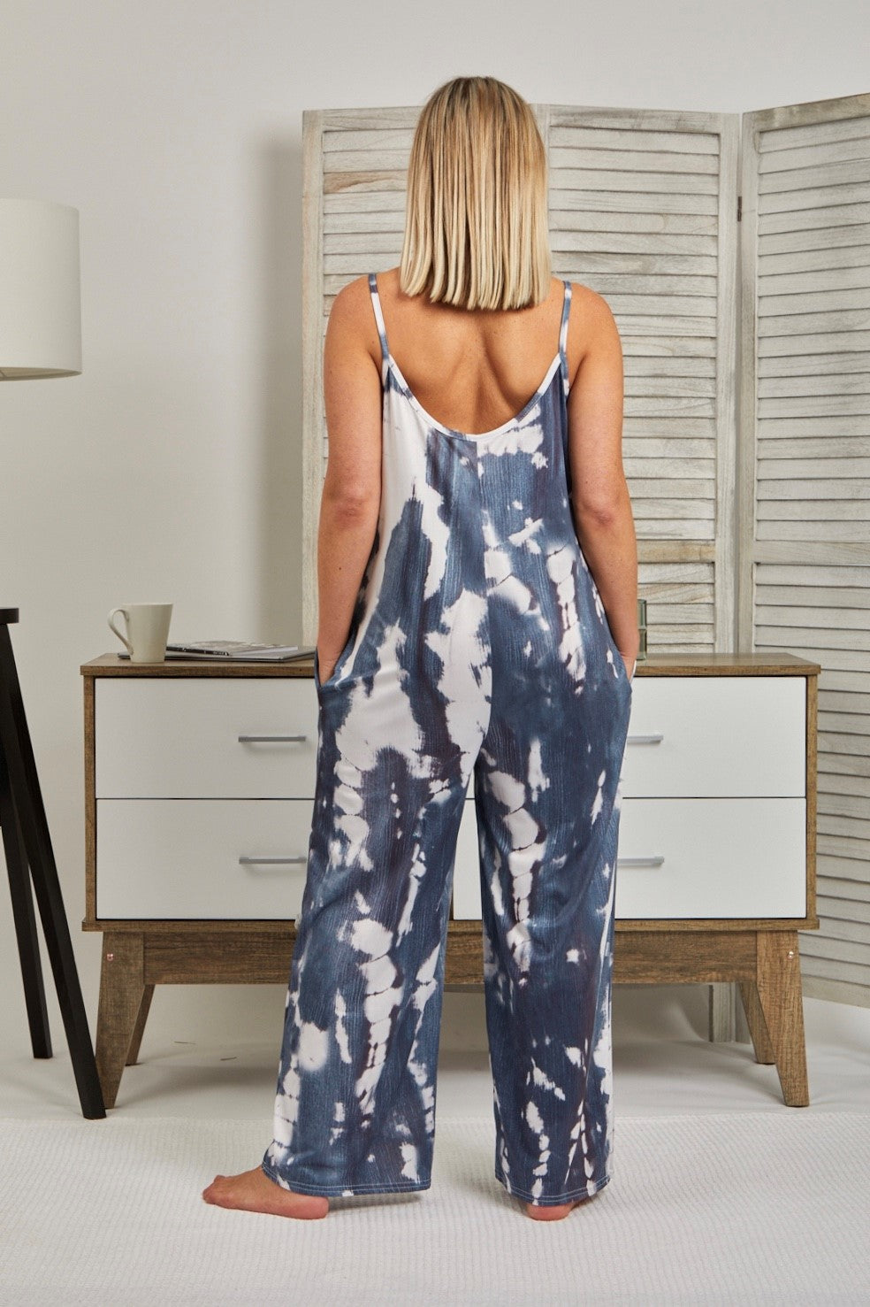 Love Lily The Label Tie Dye Jumpsuit