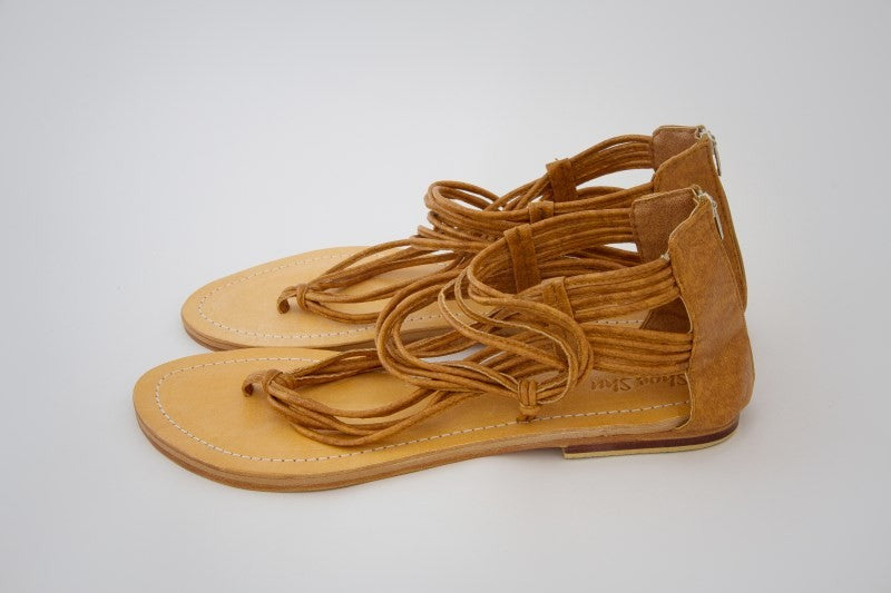 Leather String Sandal