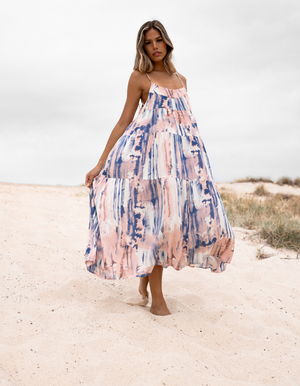 Caro The Label - Tie Dye Maxi Dress
