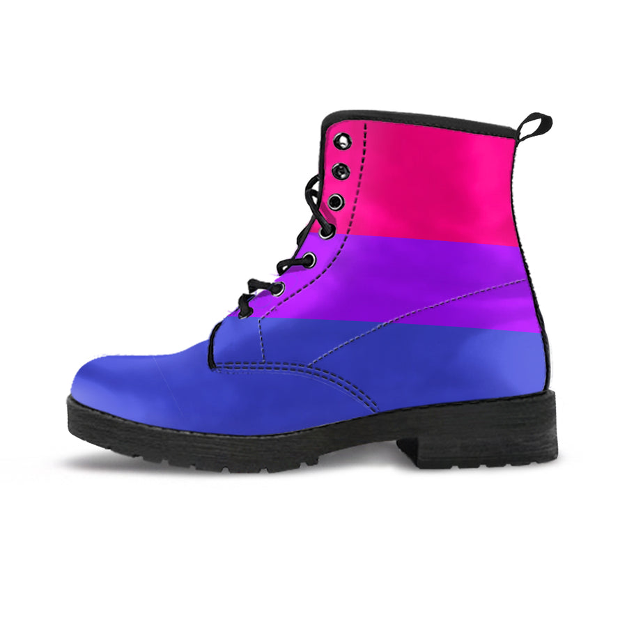 BISEXUAL FLAG BOOTS